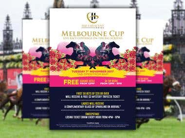 Design Melbourne Cup for The Crescent Hotel