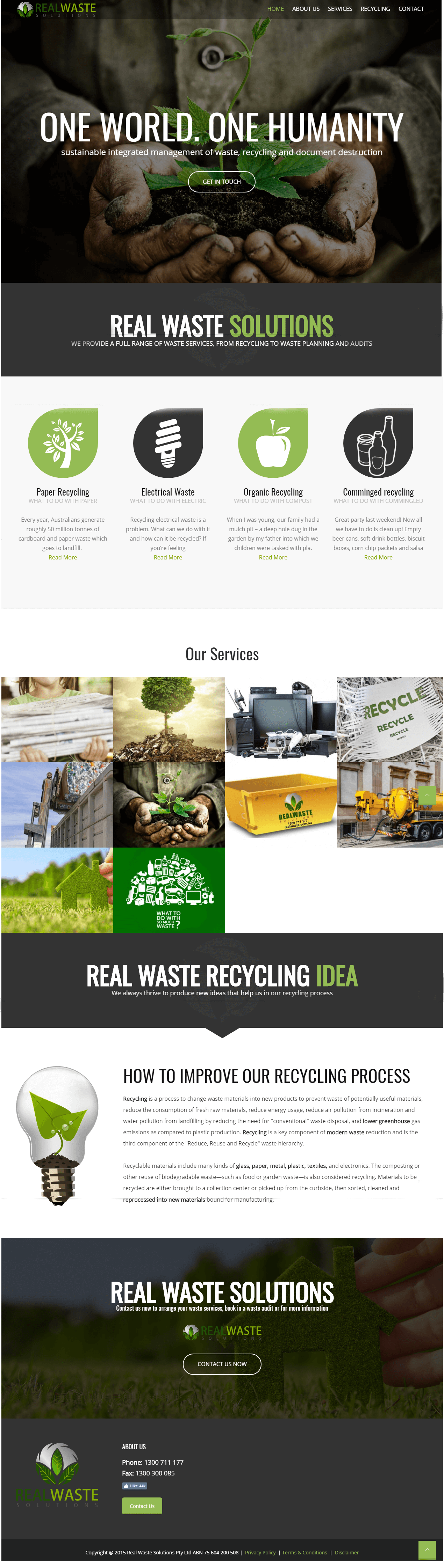 Waste choice company