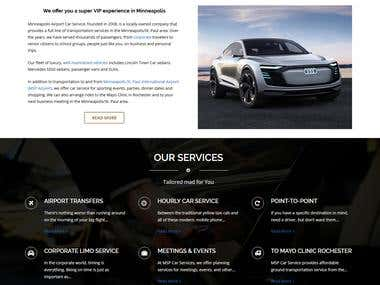 psd for cars website