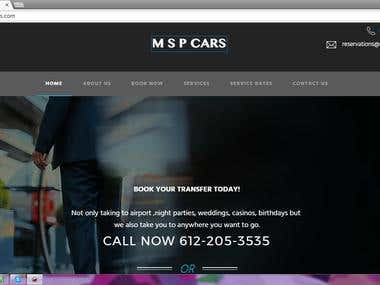 Build Cars website