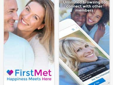 iOS - FirstMet Dating
