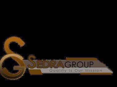 Sedra 3D logo