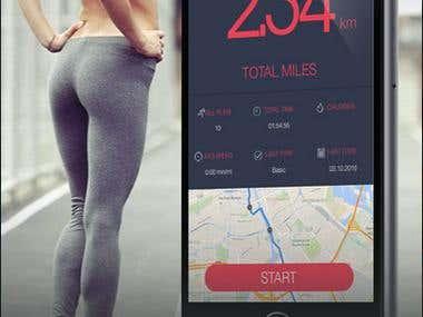 Running Distance Tracker - GPS Run Walking Tracker