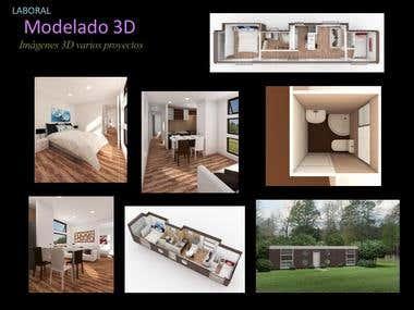 Modelado y renderizado 3D