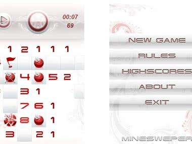 Android version of minesweeper game