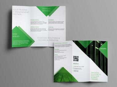 Trifold Brochure for a Networking firm