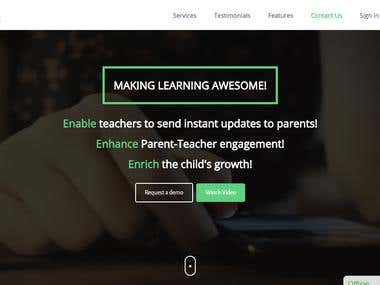 Online Education learning platform