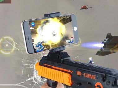 AR Shooting Action Game