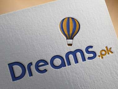 Logo For Dreams.pk