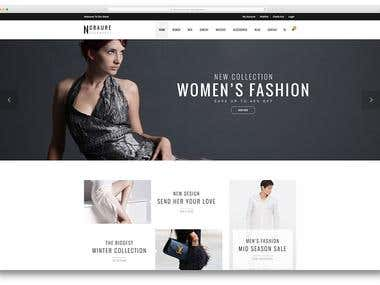 Women's Fashion Site