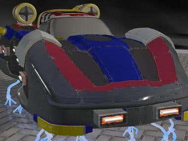 Hover Racer - Hovervette