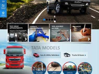 Website Design - for tata dealers