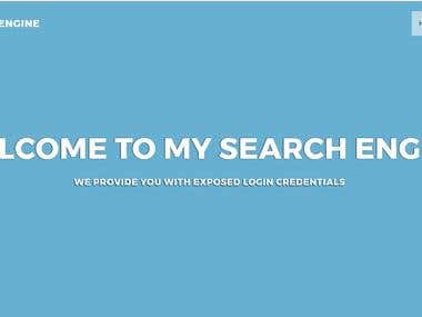 My Search (Core PHP)
