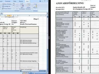 PDF Conversion into Excel
