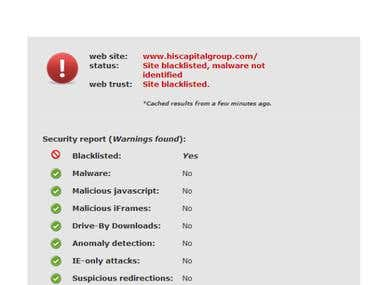 Virus Removal From Joomla Site