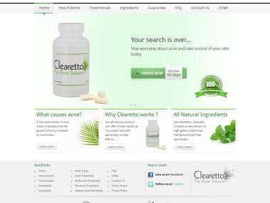 www.clearetto.com || Wordpress