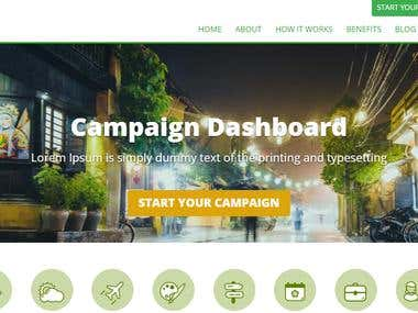 Crowdfunding Website development