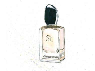 Parfum - Illustration