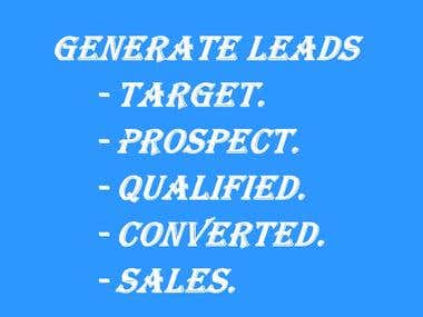 Generate Leads for Your Business.