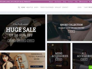 Wordpress WooCommerce with Rich Functionality