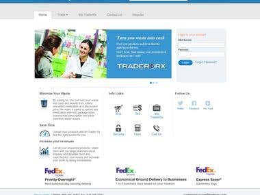 Online Pharmacy Marketplace website