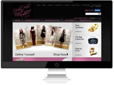 Zencart eCommerce site