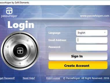 passwhisper password manager
