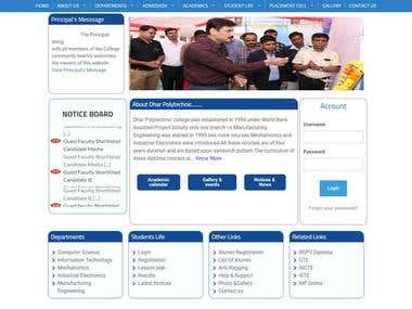 www.dharpolytechnic.in