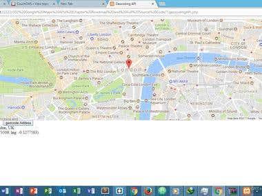 google api for location