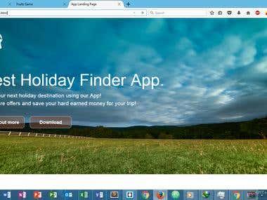 holiday finder app