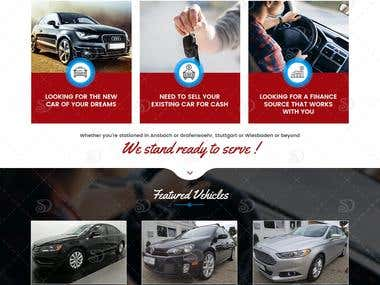 Web Design for American Motors