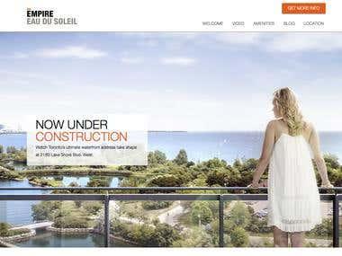 EAU DU SOLEIL - Web version
