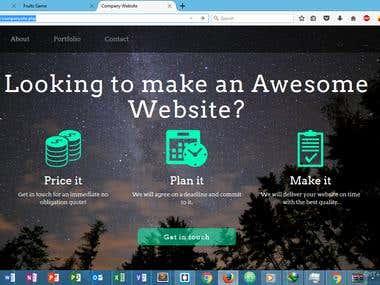 company site app