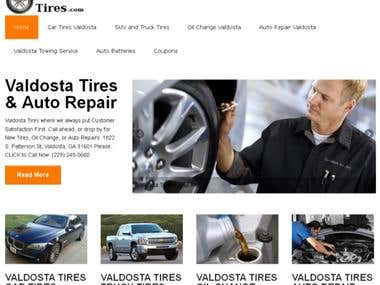 Website, Local SEO for a Local Tire Store