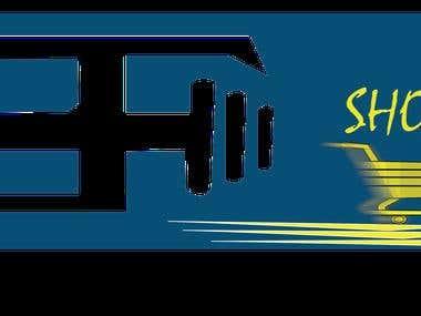 Logo for an online Shop