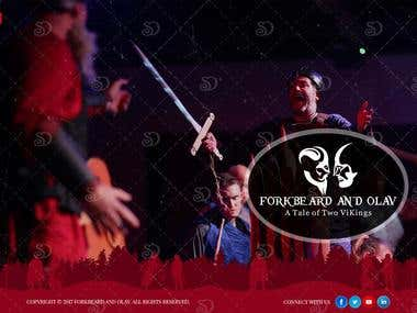 Webdesign for Forkbeard Musical Productions
