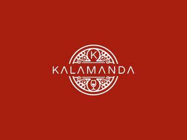 Logo design Kalamanda Wines