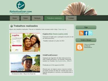 Site Retextualizar.com