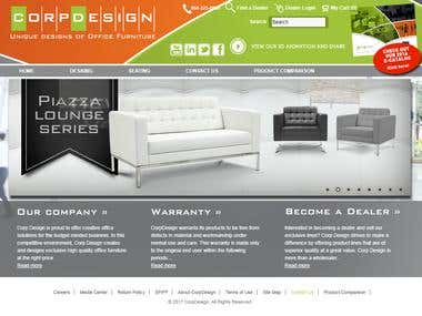 Corpdesign.com - Open Cart Website