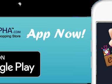 eAlpha - Online Shopping Store