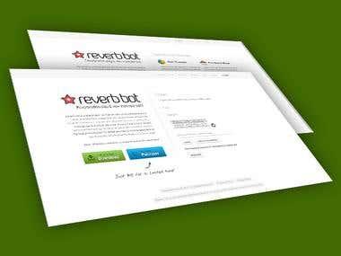 Reverbbot Website & Application