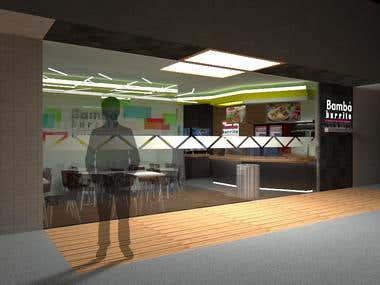 Restaurant - Architectural design