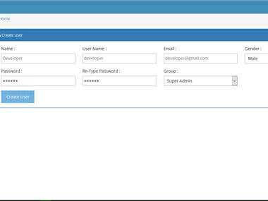 HR Management System (Attendance Module)