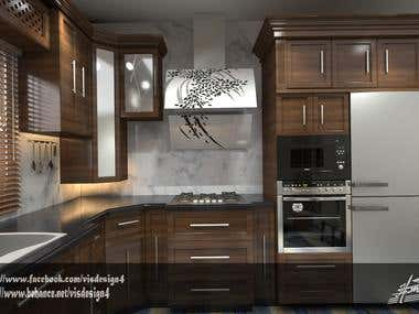 Modern kitchen design