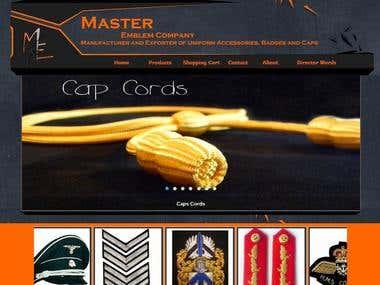 Master Emblem Website