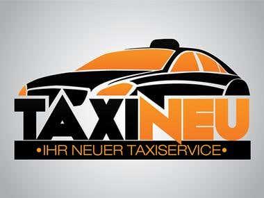 TaxiNeu logo design