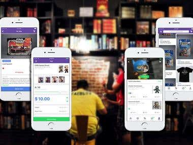 Online shopping & Social sharing app