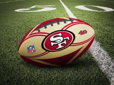 NFL ball design
