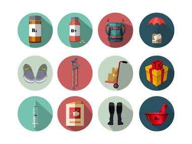 Icons - flat