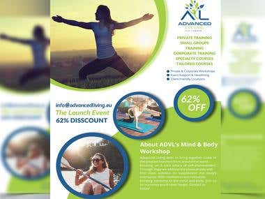 Flyer Design | Yoga